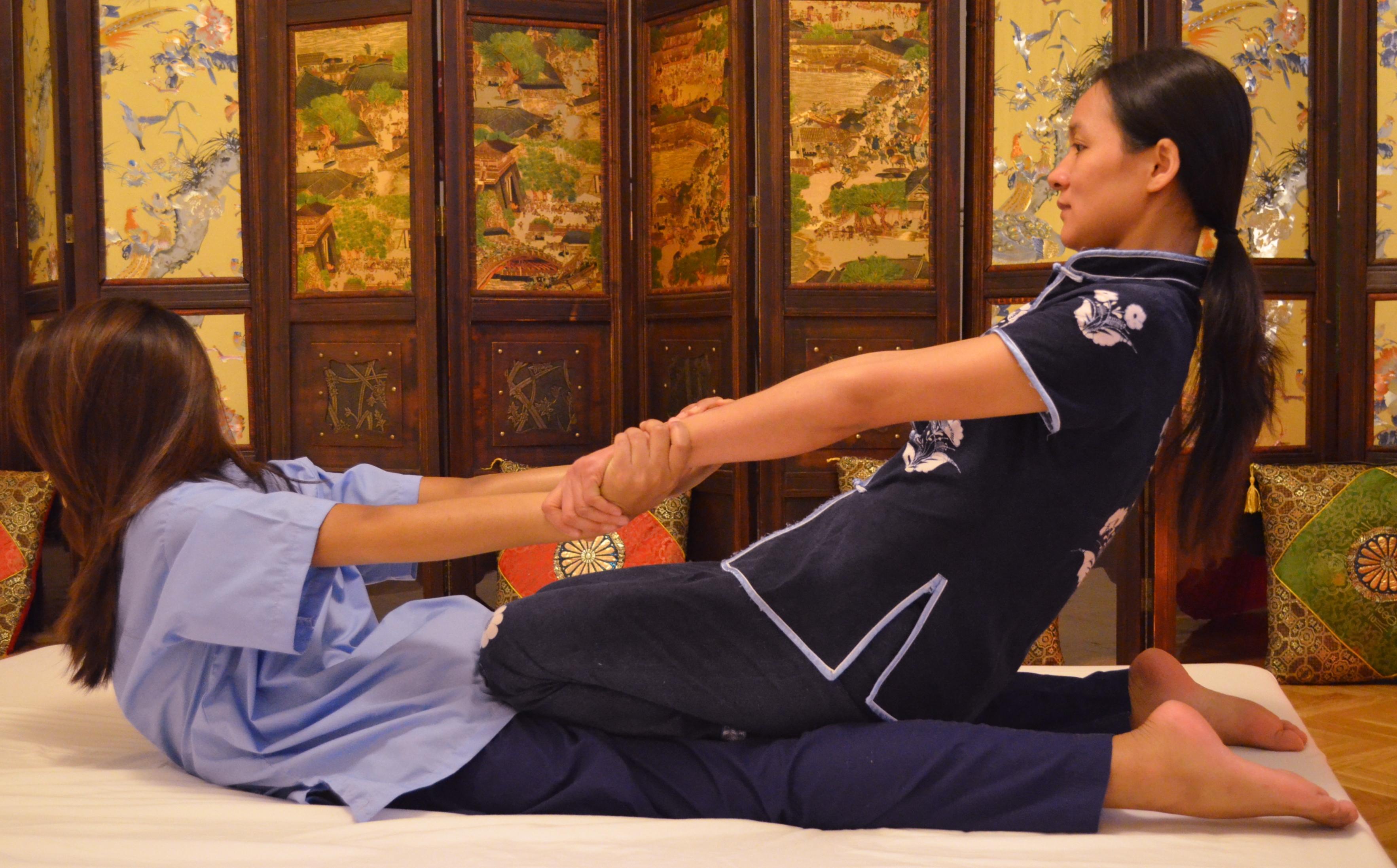 masaje tailandes en Madrid