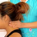masaje de cuello