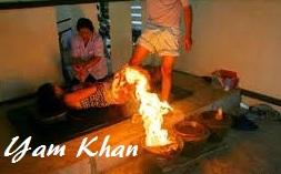 yam khan o pie de fuego