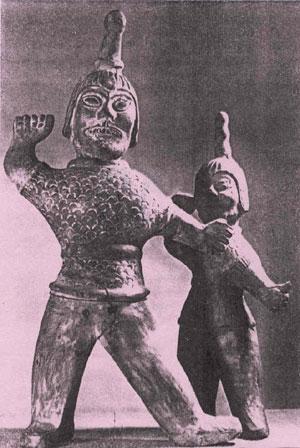 chamanes dinastía Shang China