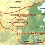 Mapa de la cultura de Longshan