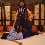 masaje con los pies xiao ying