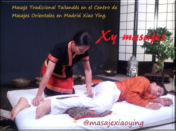 masaje tailandés tradicional en Madrid
