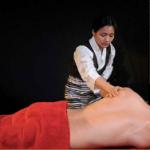 masaje de espalda, cuello y hombros