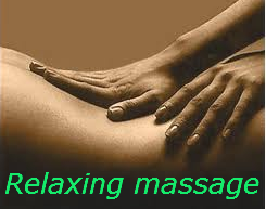 masaje relajante de espalda