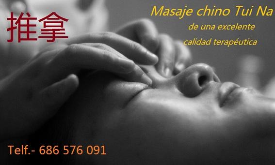 masaje tuina terapeutico en Madrid