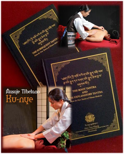 masaje Ku Nye tibetano en Madrid