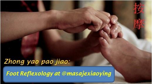 foot massage Madrid