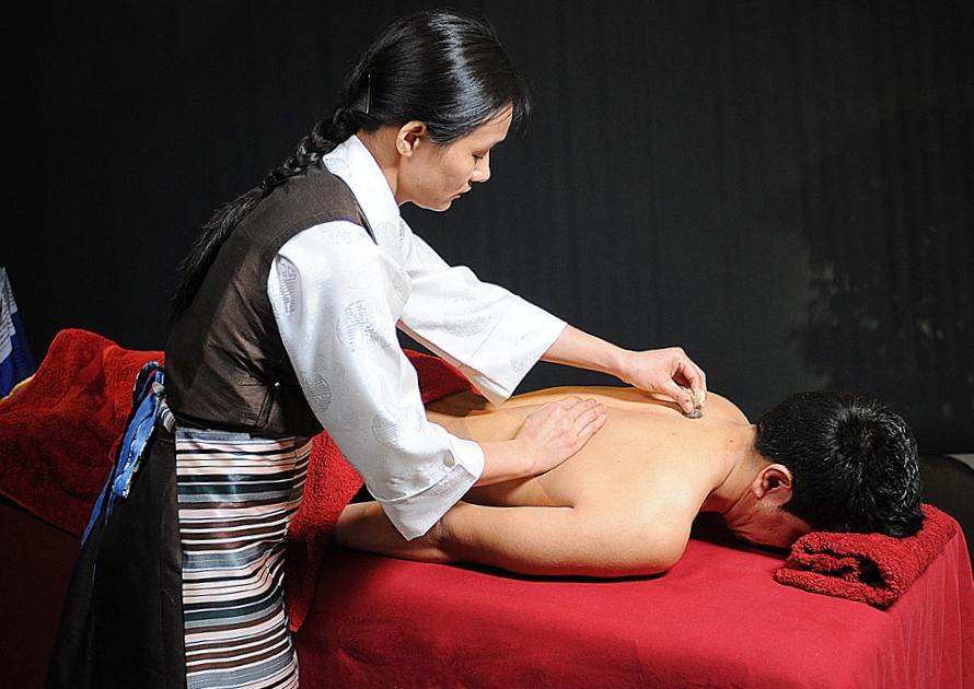 masaje terapeutico tibetano Ku Nye