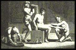 masaje ilustracion