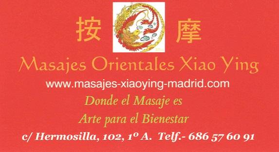 Centro de Masajes Orientales Xiao Ying en Madrid