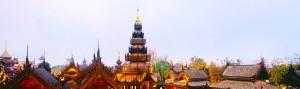 tejados de Chiang Mai