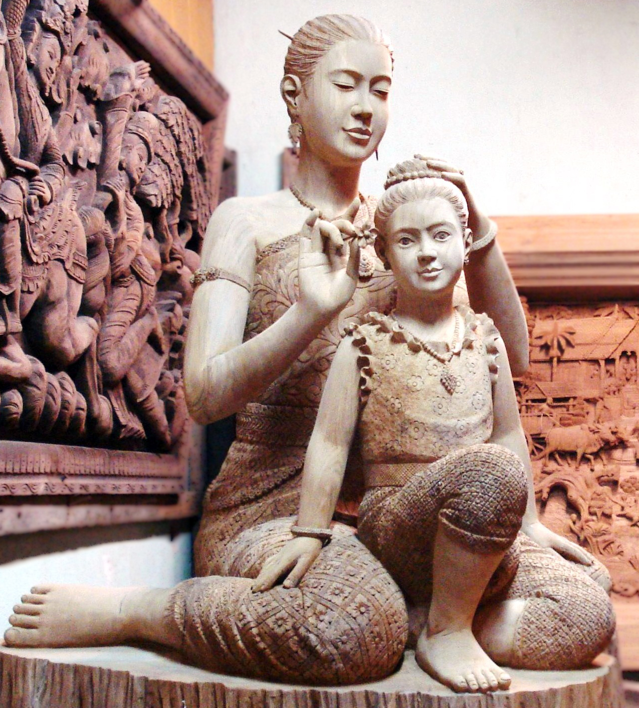 el masaje es como el amor de madre
