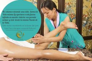 masaje hawaiano relajante en Madrid