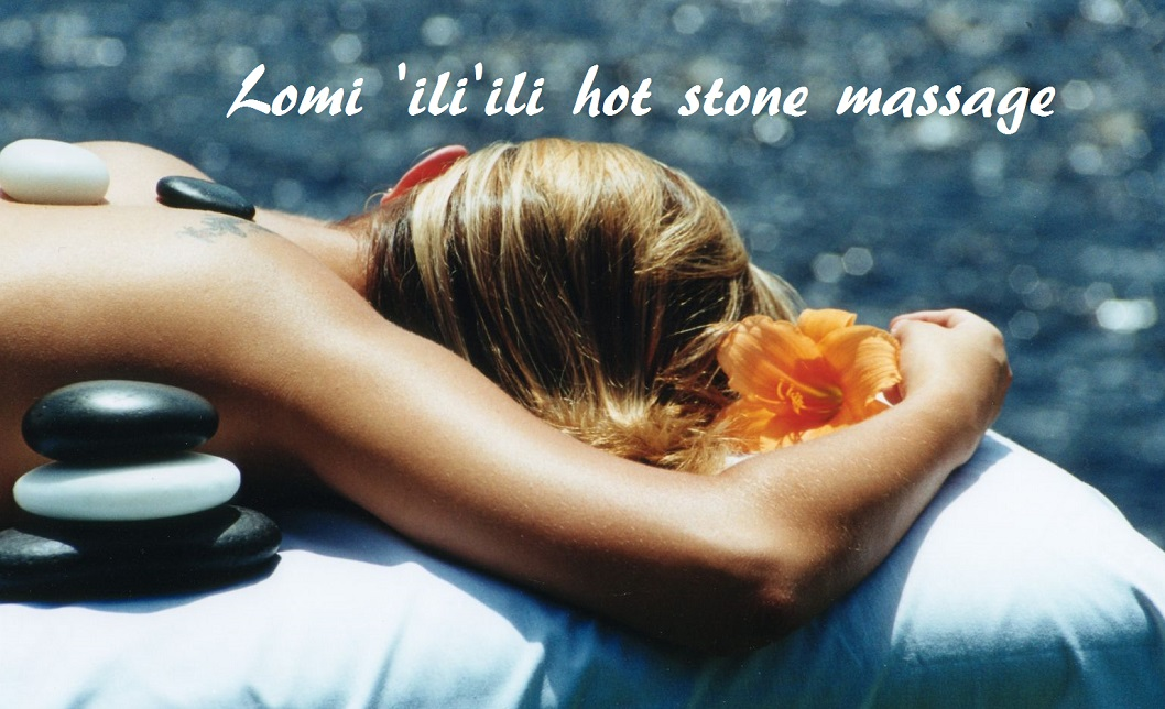Lomi 'ili'ili hot stone massage Madrid
