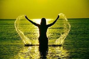 alegría y felicidad de vivir
