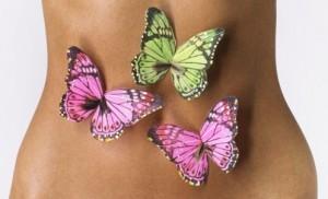 mariposas en la tripa
